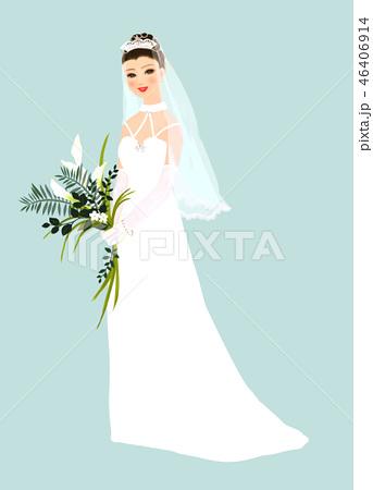花嫁 ウエディングドレス 46406914