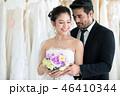 結婚 ブーケ 花束の写真 46410344