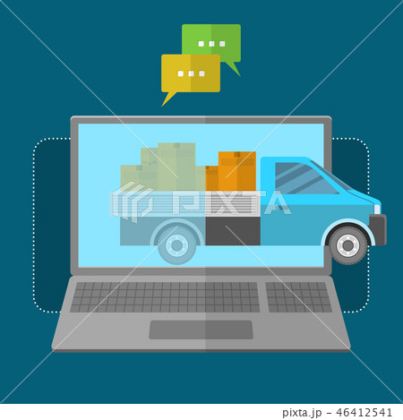 Express delivery concept 46412541