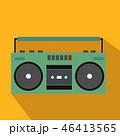 ラジカセ レコーダー ドーンのイラスト 46413565