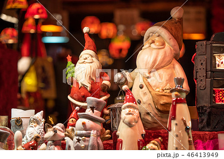 ドイツ クリスマスマーケット イメージ (フランクフルトにて) 46413949
