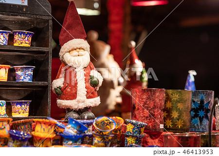 ドイツ クリスマスマーケット イメージ (フランクフルトにて) 46413953