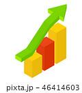 イコン 伸び 成長のイラスト 46414603