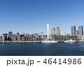 晴海ふ頭のオリンピック選手村建設現場 46414986