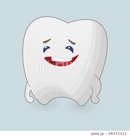 Kind tooth illustration 46415412