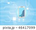 人工知能 テクノロジー ハイテクのイラスト 46417099