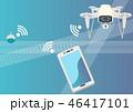 人工知能 テクノロジー 通信のイラスト 46417101