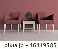 椅子 ペア モノクロ 46419585