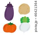 野菜 トマト カブのイラスト 46421364