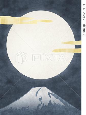 和紙の風合いを感じる日本画 46421414