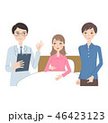 妊婦 入院 医者のイラスト 46423123
