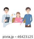 妊婦 入院 医者のイラスト 46423125