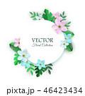フラワー 花 フローラルのイラスト 46423434