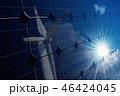 ソーラーパネル 太陽電池パネル 太陽光パネルの写真 46424045