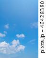 空 快晴 晴れの写真 46428380