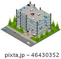 立体 3D 3Dのイラスト 46430352