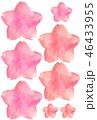 水彩 桜 春のイラスト 46433955