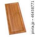 3d rendering kitchen door furniture of wood 46438771