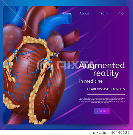 Vector Illustration Augmented Reality in Medicine 46440582