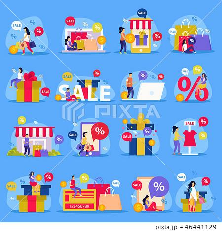 Great Sale Flat Icon Set 46441129