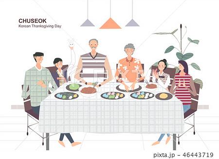 Korean Holiday Promotion Vector Illustration 46443719