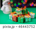 クリスマスツリー プレゼント 箱の写真 46443752