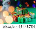クリスマス 雪だるま プレゼントの写真 46443754