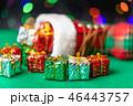 クリスマス プレゼント 箱の写真 46443757
