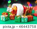 クリスマス プレゼント 箱の写真 46443758