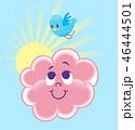 くも 雲 イラストのイラスト 46444501