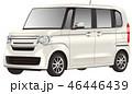 軽自動車イラスト(切り抜き有り) 46446439