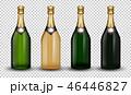 組み合わせ シャンパン シャンペンのイラスト 46446827