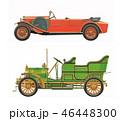 車 自動車 クラシックのイラスト 46448300