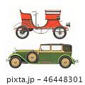 車 自動車 クラシックのイラスト 46448301