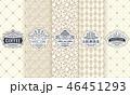下げ札 付箋 ラベルのイラスト 46451293