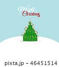Christmas Greeting Card with Christmas tree 46451514
