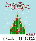 Holiday Christmas Greeting Card 46451522