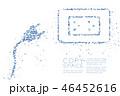 ベクター ジオメトリック 幾何学的のイラスト 46452616