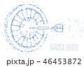 Abstract Geometric Circle dot pixel Dartboard game 46453872