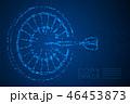 Abstract Geometric Circle dot pixel Dartboard game 46453873