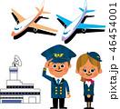 パイロットとCA 46454001