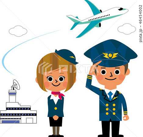 CAとパイロット 46454002