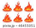 火 組み合わせ ベクタのイラスト 46455051