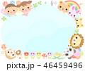 動物と子供 フレーム 46459496