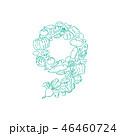 ベクトル アルファベット レターのイラスト 46460724