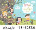 春 泉 ばねのイラスト 46462530