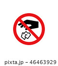 アイコン 禁止 マークのイラスト 46463929