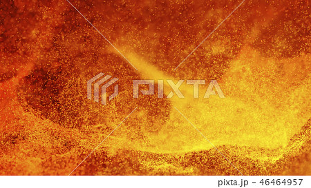 Hot Volcanic Magma, Lava Background 46464957