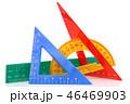三角定規 三角形 三角の写真 46469903