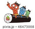 太巻きと鬼 46473008